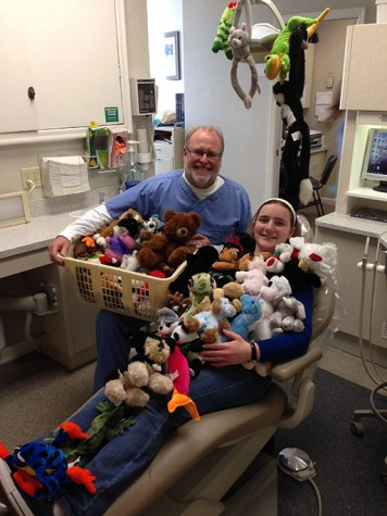 Junior Meghan Swoboda Collects Stuffed Animals for Charity