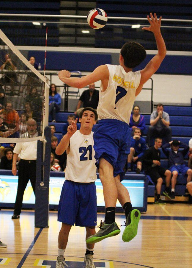 Volleyball faces Howell Central, April 19