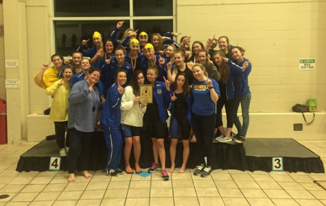Girls Varsity swim and dive wins GAC conference