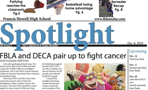 December's issue of Spotlight