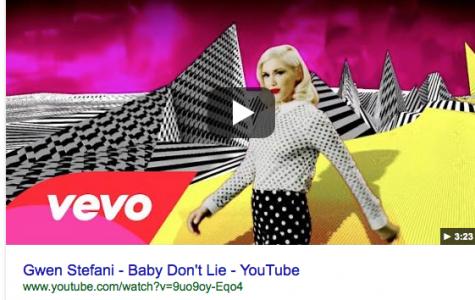 """Baby Don't Lie"" by Gwen Stefani"