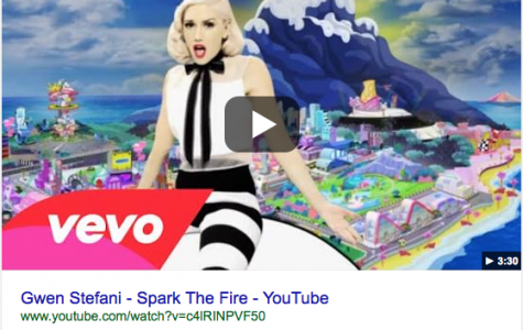 """""""Spark the Fire"""" by Gwen Stefani"""