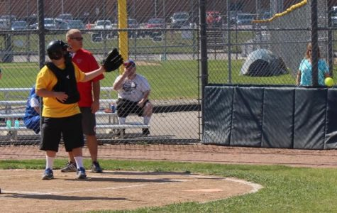 Softball helps in Special Olympics