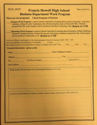 Work Program Registration