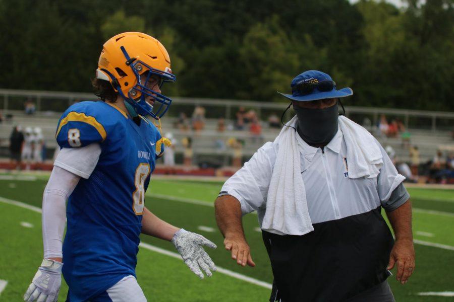 Coach Jason Skidmore celebrates 100th win as C-Team football coach