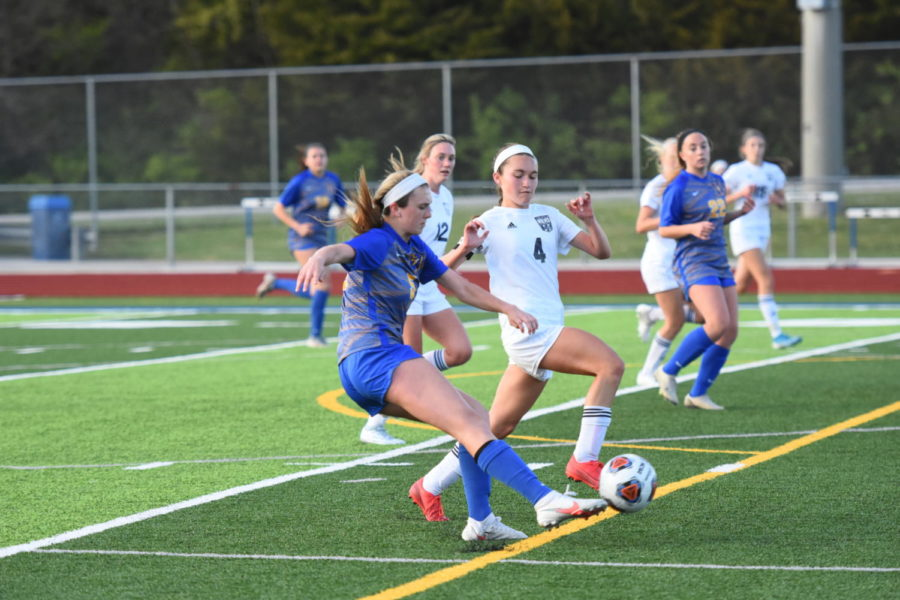 Girls soccer brings home wins in the final few weeks of the season