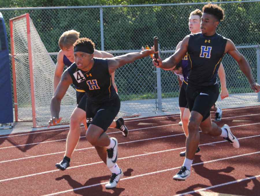 The boys track program places first in GAC