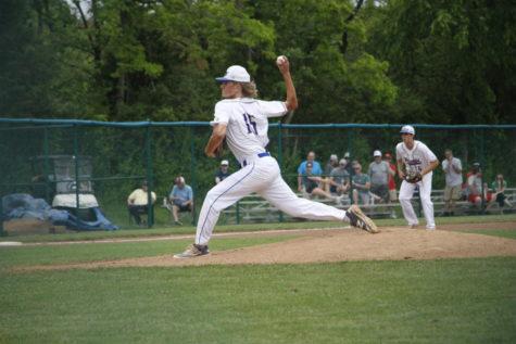 Varsity baseball wins districts May 22.