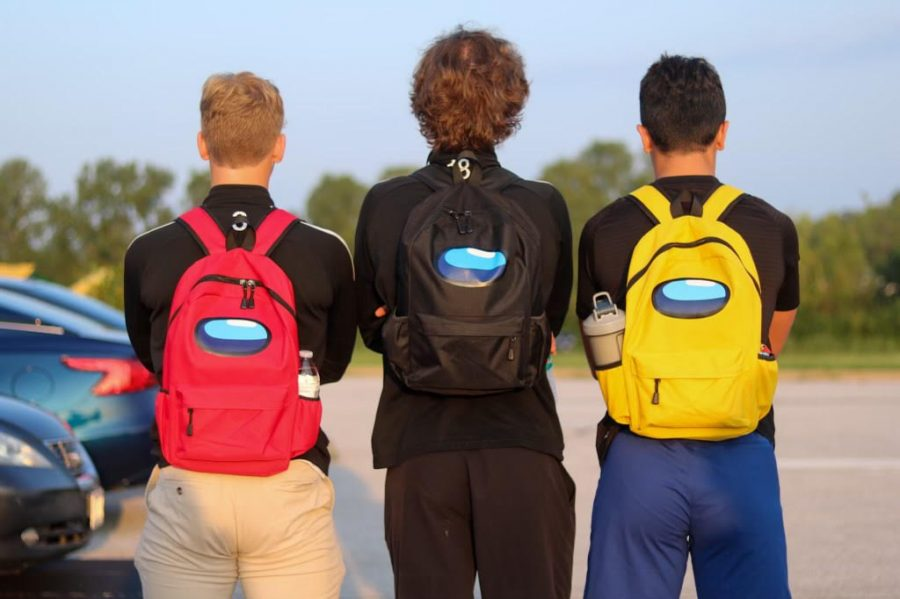 Backpacks Take Place of Lockers