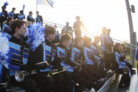 Marching Band Takes 5th at Lafayette Contest of Champions