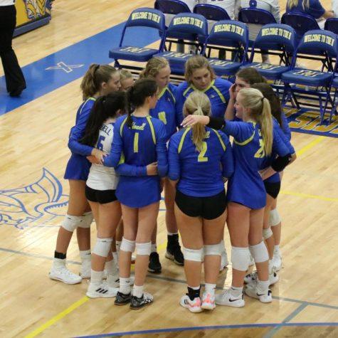 C Team Girls Volleyball Wins 9th Grade GACs