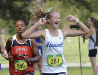 Cross Country Recieves 3 Medals In Gans Creek Classic