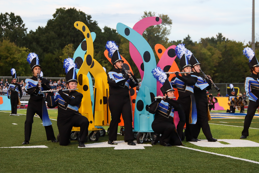 Marching Band Takes Seventh at River City Showcase